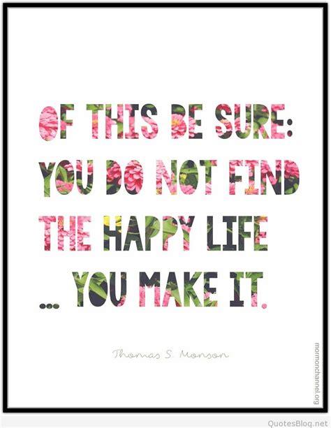 happy life quote