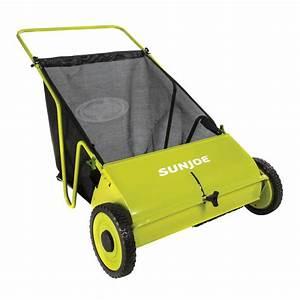 Sun Joe Manual 26-in  Push Lawn Sweeper-sjsw26m