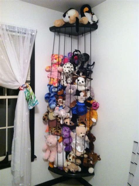 stuffed animal storage animals diy zoo corner toys way organization toy bedroom cool room looks idea plush soft ways inspire