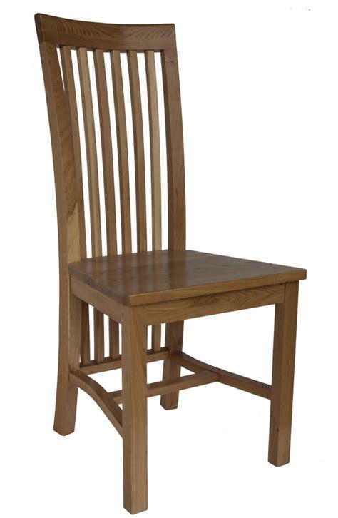 rowan solid wood dining chair