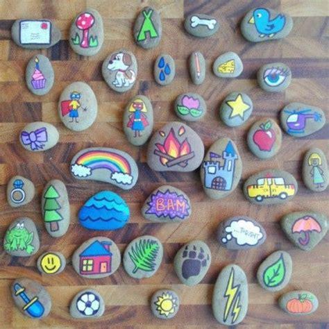bemalte steine vorlagen steine bemalen kindern vorlagen steine steine bemalen