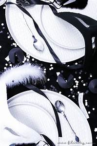 Tischdeko Schwarz Weiß Ideen : black white party und tischdeko f r silvester interior blog aus dem rheinland ~ Bigdaddyawards.com Haus und Dekorationen