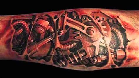 tattoos  robotic tattoo designs youtube