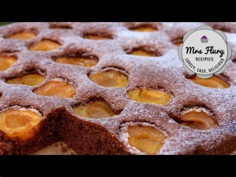 schoko aprikosen blechkuchen saftiger marillenkuchen