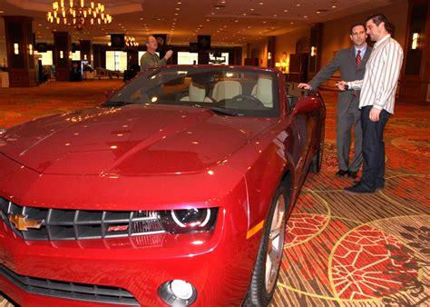 Super Bowl Mvp Aaron Rodgers Wins 2011 Chevrolet Camaro