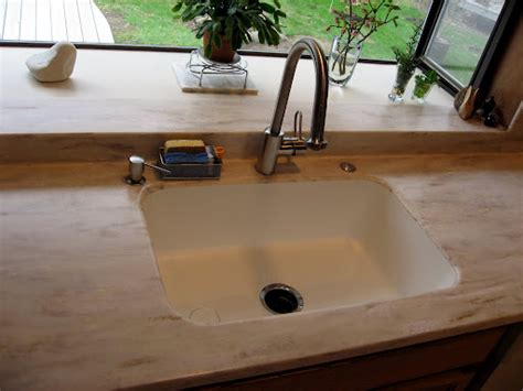 integrated kitchen sink corian residencial 1896