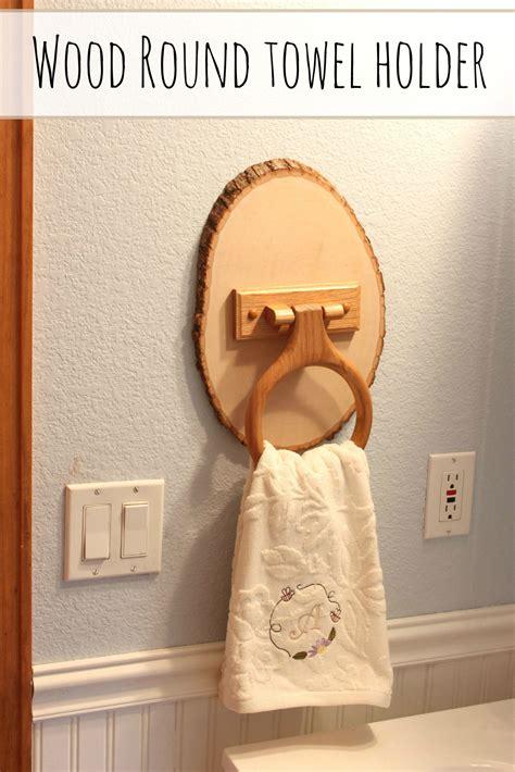 wood  towel holder  crafty spot  life