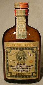 1938 Old Overholt Straight Rye Whiskey Distilled By A