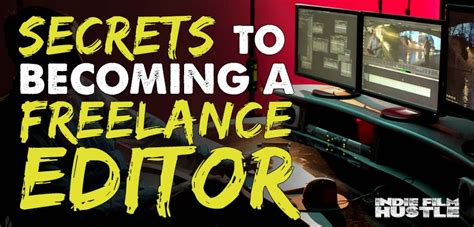 Edit Essay Secrets To Becoming A Freelance Editor  Once Upon A Timelinethe Inside The Edit Blog