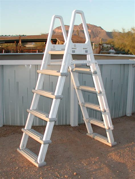 ground pool ladders