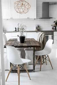 Quelle deco salle a manger choisir idees en 64 photos for Deco cuisine avec chaise de salon pas cher