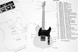 Fender Squier Telecaster  268502   1984  Parts List  Photo  Close