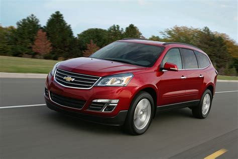 Chevrolet Car : 2015 Chevrolet Traverse (chevy) Review, Ratings, Specs