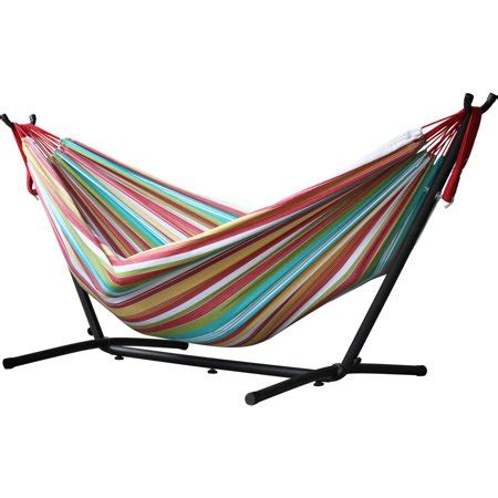 viveres combo double hammock  stand salsa