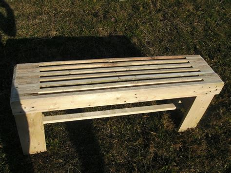 de rcuprationbanc en bois palette rcupration meubles