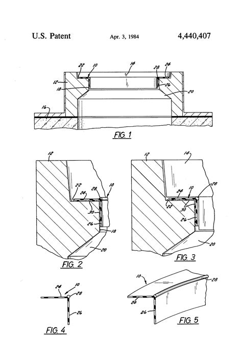 Patent US4440407 - Manhole cover gasket seal - Google Patents