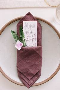 Pliage De Serviette En Tissu : pliage de serviette pour mariage ou quand la serviette ~ Nature-et-papiers.com Idées de Décoration