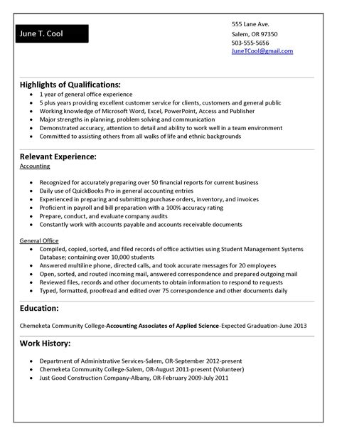 Sample Nursing Informatics Resume