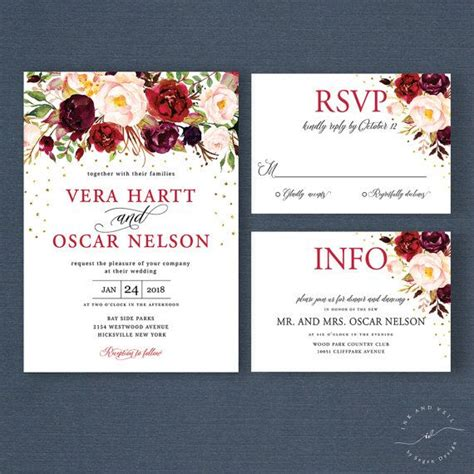 customizable wedding invitations best 25 winter wedding invitations ideas only on