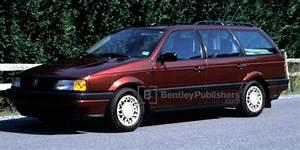 Vw - Volkswagen Repair Manual  Passat  1990-1993 - Bentley Publishers