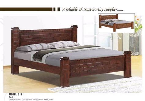 latest wooden double bed design furniture  buy double