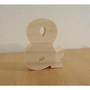 Lettre En Bois A Poser : lettre en bois alphabet 10 cm ~ Teatrodelosmanantiales.com Idées de Décoration