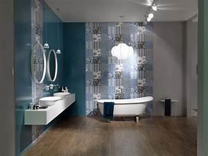 Couleur Mur Salle De Bain : carrelages murs ~ Dode.kayakingforconservation.com Idées de Décoration