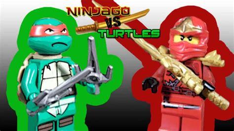 Ninjago Vs Turtles