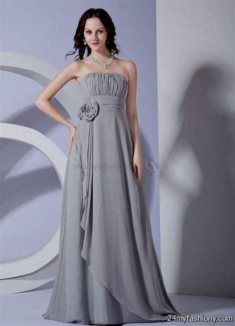 light gray bridesmaid dress light grey chiffon bridesmaid dresses 2016 2017 b2b fashion