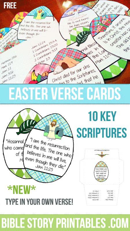 easter bible verse printables 134 | EasterVerseCardsPin