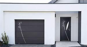 changer sa porte de garage eveno fermetures With porte de garage basculante pour changer une porte d entrée