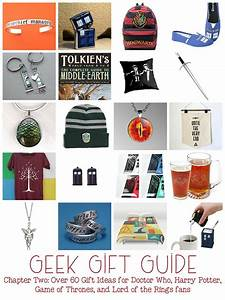 Geek Gifts Chapter Two: Doctor Who, LOTR, Harry Potter