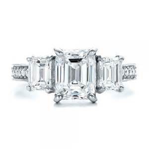 engagement rings emerald cut cut engagement rings emerald cut engagement rings and wedding bands eternity jewelry