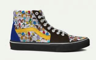 design your own vans you can now customize your own pair of vans with peanut 39 s characters planet aviation