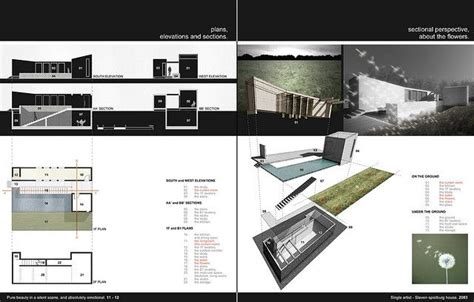 architecture portfolio architecture  layout  pinterest