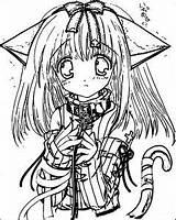 Coloring Sad Anime Manga Wecoloringpage Boy sketch template