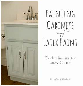 Bathroom paint colors it all started with paint for Latex paint in bathroom