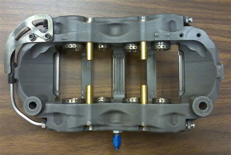8 Piston Calipers by Can Am Cars Brembo 8 Piston Monoblock Calipers