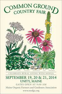 MOFGA unveils 2014 Common Ground Country Fair poster ...