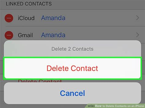 delete contacts iphone 5 easy ways to delete contacts on an iphone wikihow