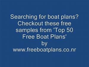 Boat Plans Download 60