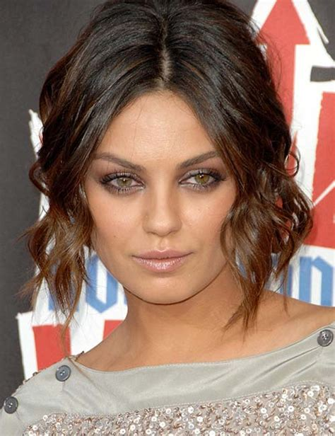 short hairstyles to flatter a round face