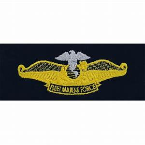 Navy Counselor Navy Chaplain Fleet Marine Force Embroidered Breast
