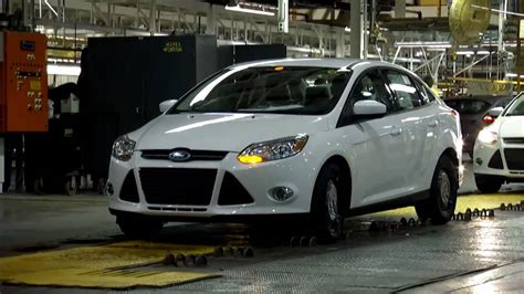 Ford Focus Plant by 2012 Ford Focus At The Michigan Assembly Plant