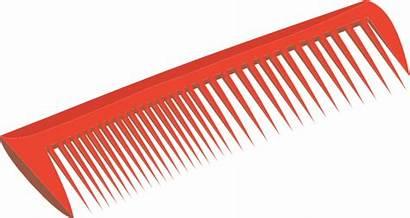 Comb Clipart Clip Barber Vector Transparent Hair