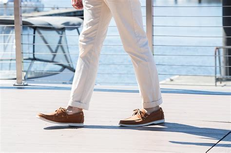 Boat Shoes Chinos Socks by A History Of S Boat Shoes He Spoke Style