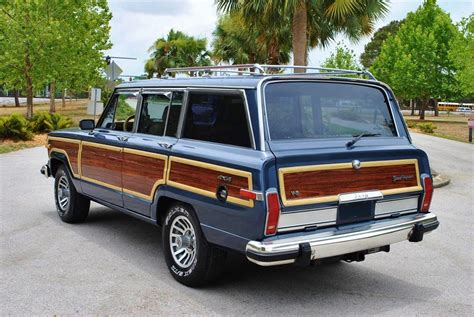 jeep wagoneer blue blue jeep grand wagoneer for sale used cars on buysellsearch