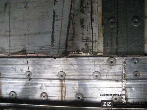 Trailor Three-axle Semi-dry Freight Box Sko Standard 1991