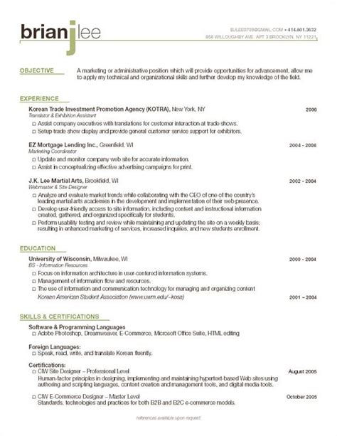 List Of Resume Headings by 1000 Images About Resume Headings On Resume