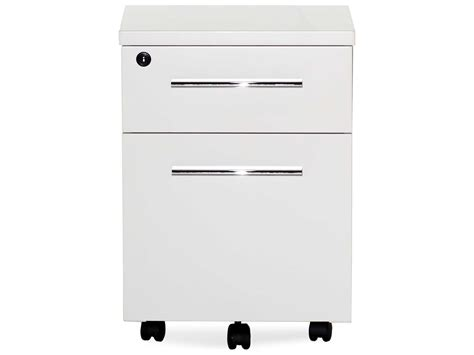 white lacquer file cabinet unique furniture 500 series white lacquer two drawer